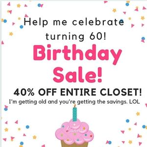Birthday Sale! Click for details.